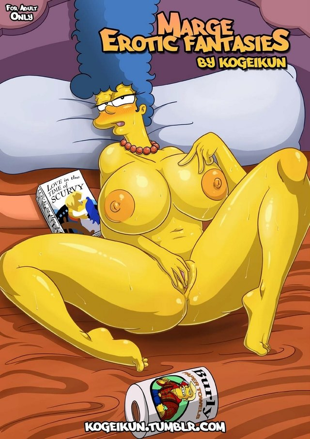 The Simpsons XXX comics: Marge's Erotic Fantasies