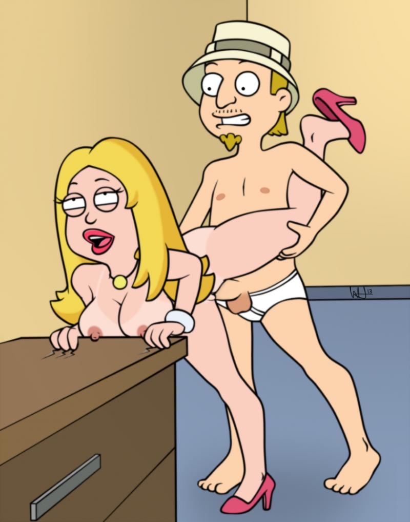 скачать порно с франсин из американского папаши мульт