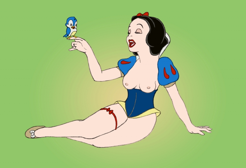 Dita Von Teese Makes A Good Snow White Nude