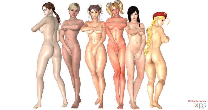 1172817 - Cammy_White Chun-Li Dead_or_Alive Jill_Valentine Juliet_Starling Kokoro Lollipop_Chainsaw Resident_Evil Sherry_Birkin Street_Fighter cablex452 c