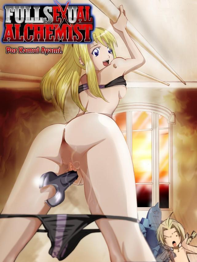 Full sexual alchemist cartoon.