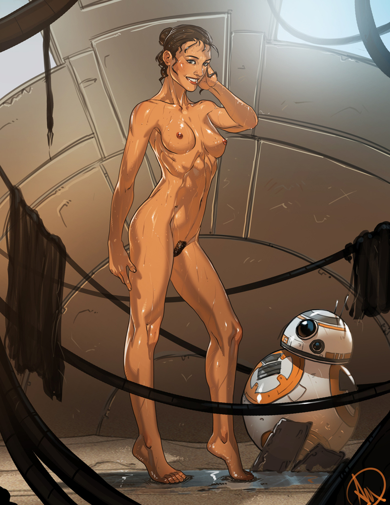 Naked female Jaina Solo view nailable