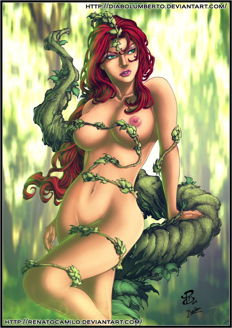 Poison Ivy Batman Xxx