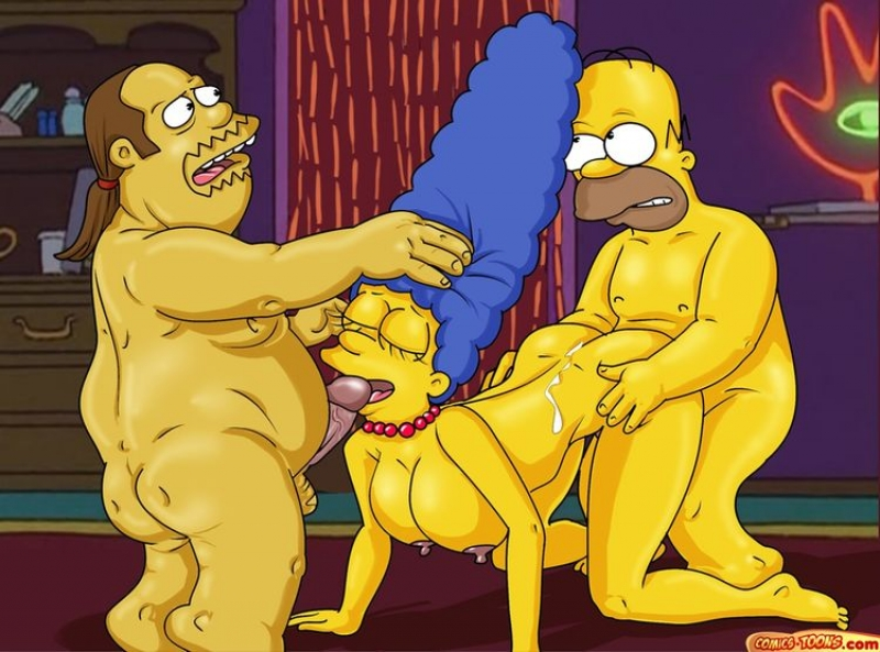 The Simpsons Marge Nude