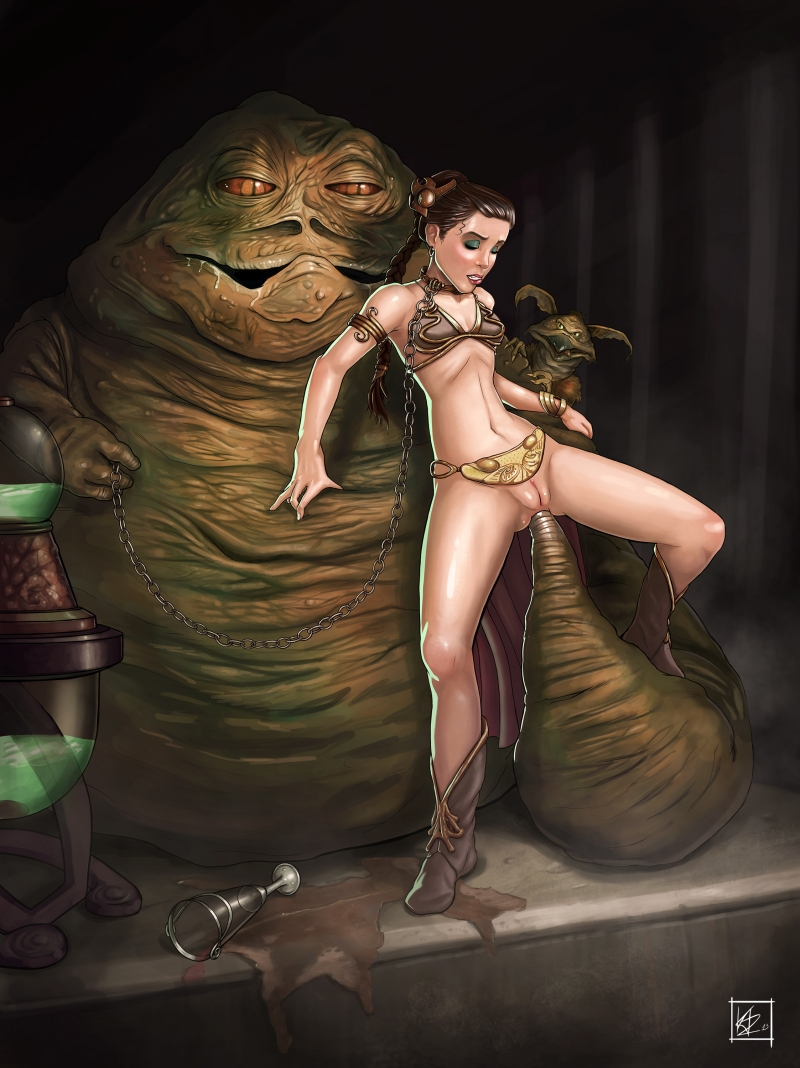 Star wars princess leia hentai