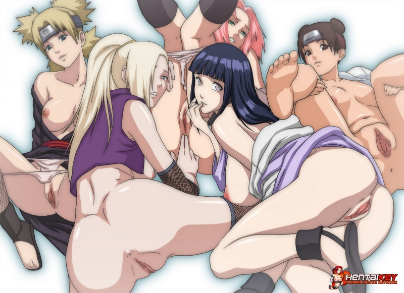 Naruto Girls Naked
