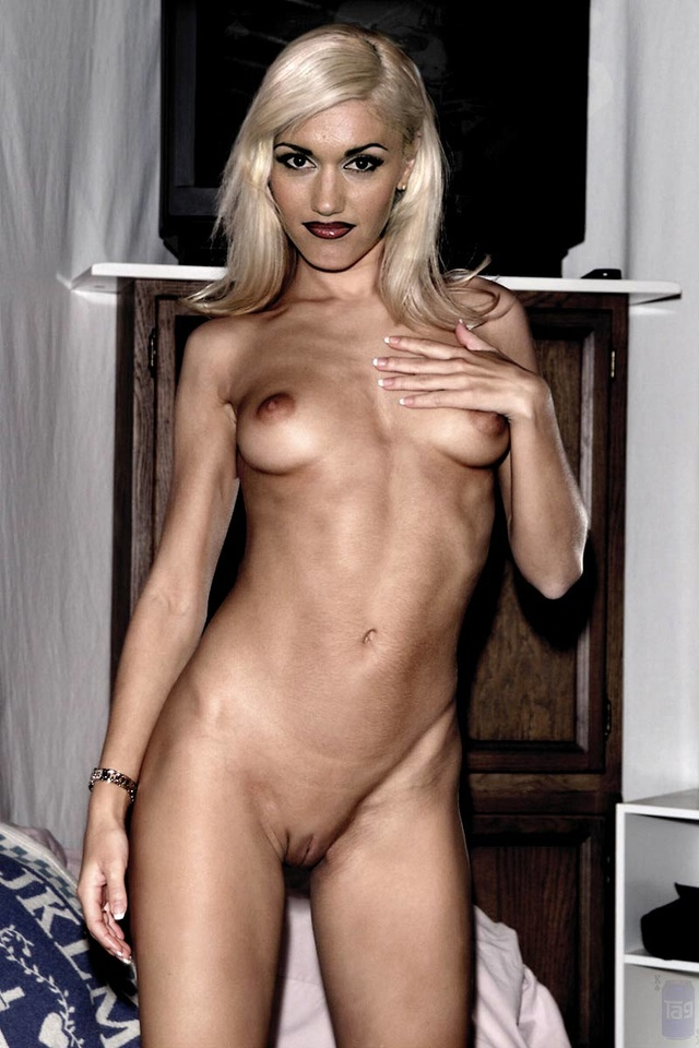 Celebrities gwen stefani nude and shaved