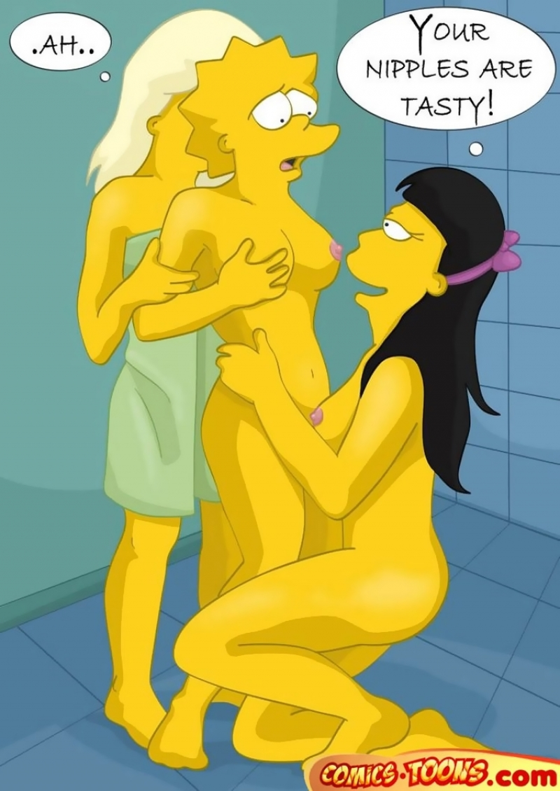 The Simpsons Sex Cartoon
