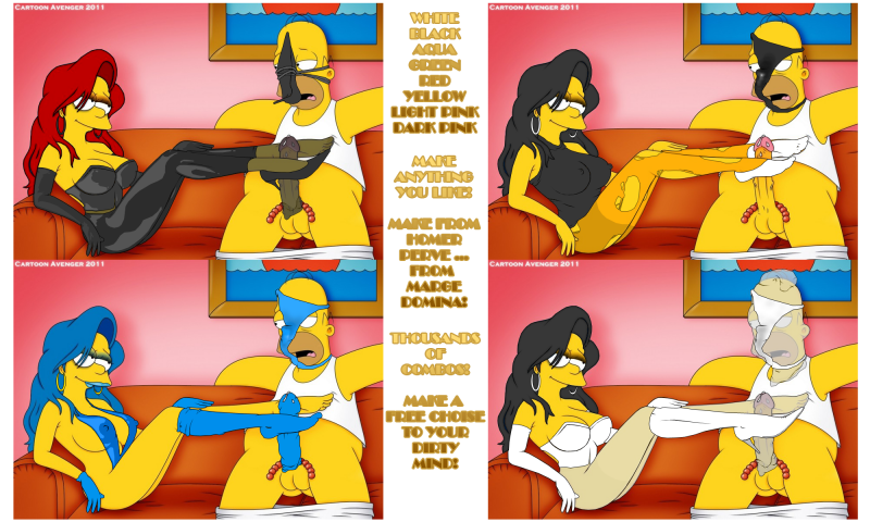 Simpsons Cartoon Sex Vid