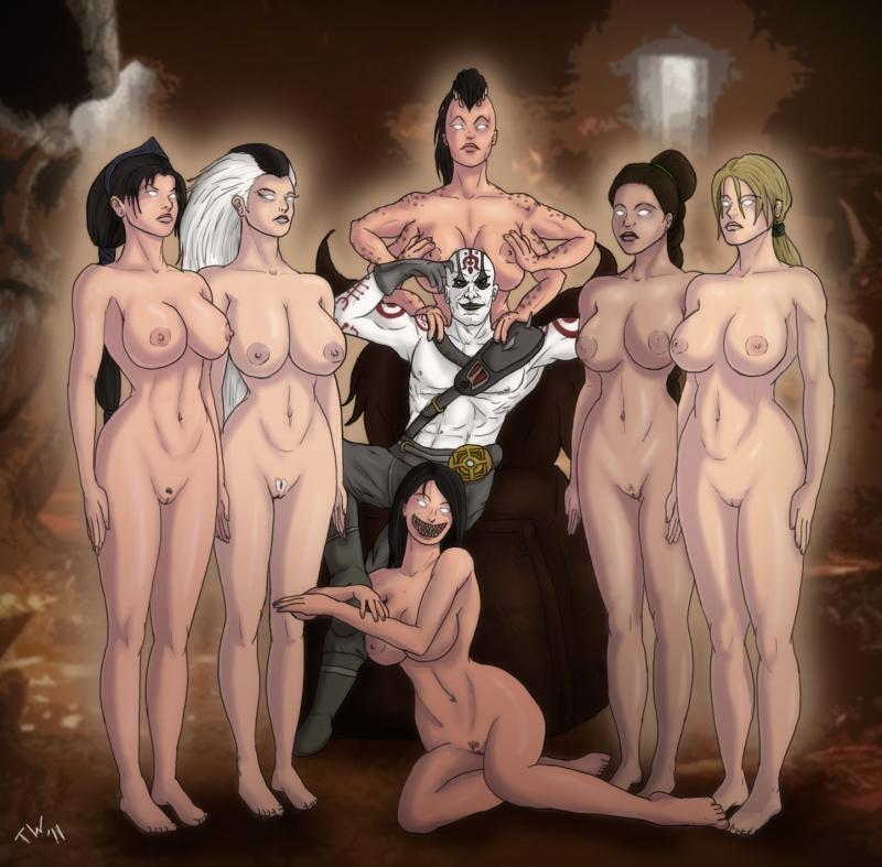 Mortal Kombat Girls Porn