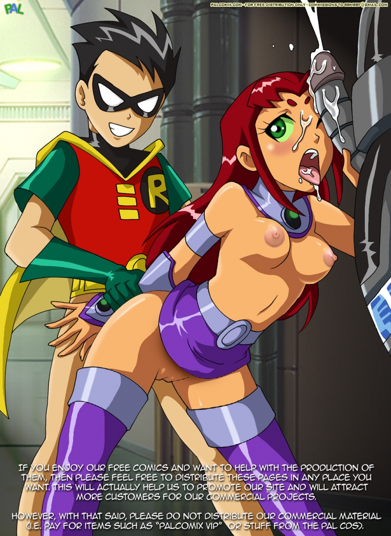Teen Titans Raven Hentai