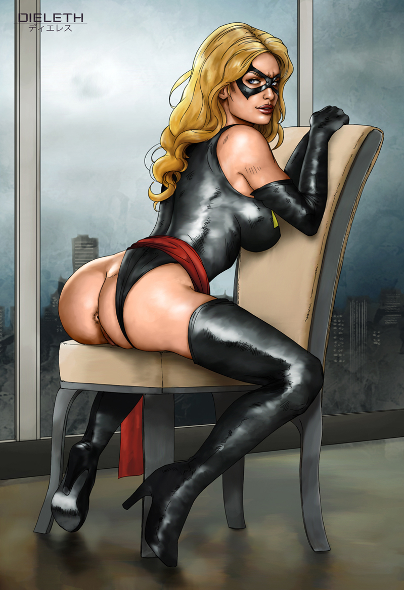 Ms. Marvel has a marvelous ass indeed!