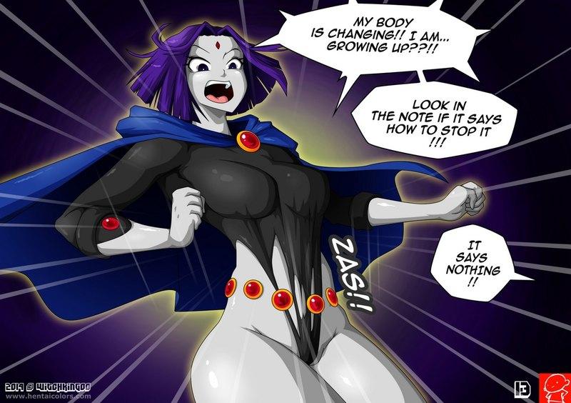 Teen Titans Hentai Porn Doujinshi