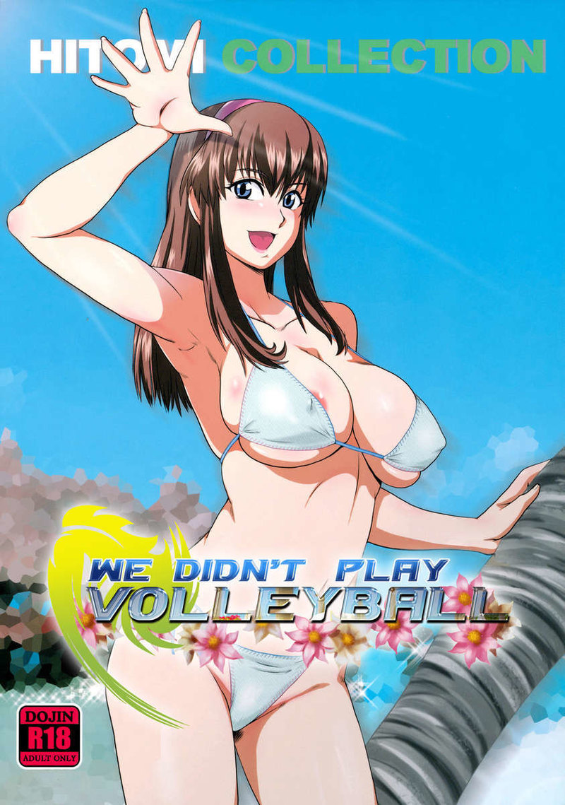We didnt play Volleyball: Sex on the beach with busty Hitomi