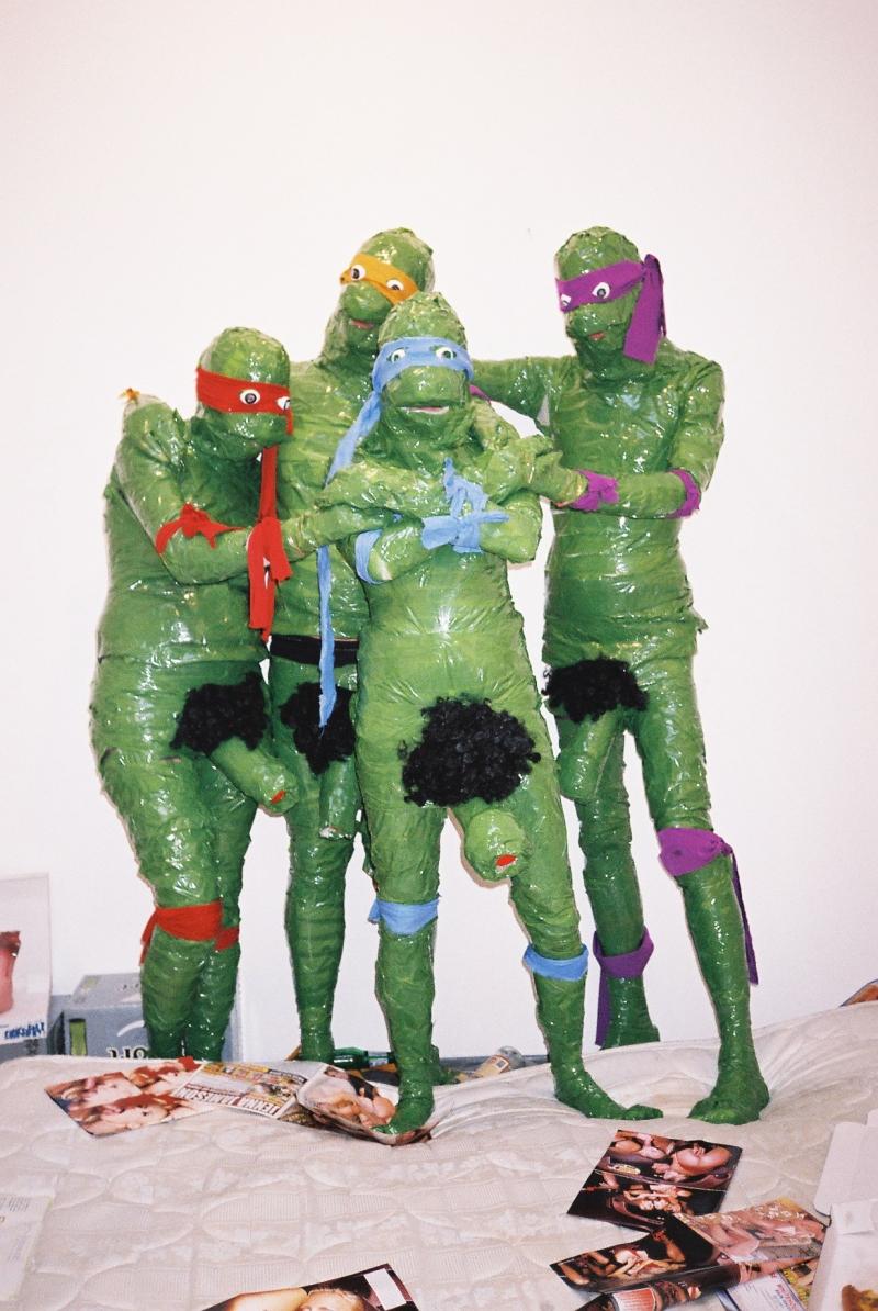 1351871 - Donatello James_Unsworth Leonardo Michelangelo Raphael Teenage_Mutant_Ninja_Turtles cosplay.jpg