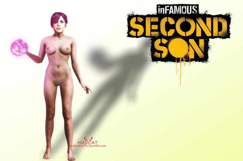 порно infamous second son