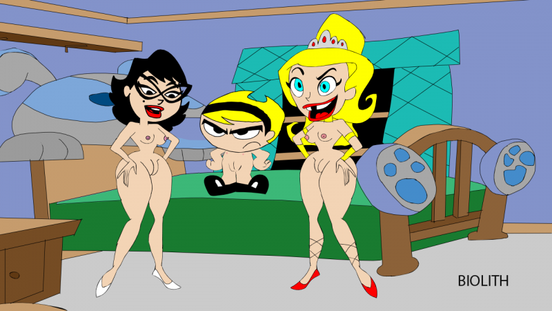 The swxy adventures of billy and mandy porn girl masterbating