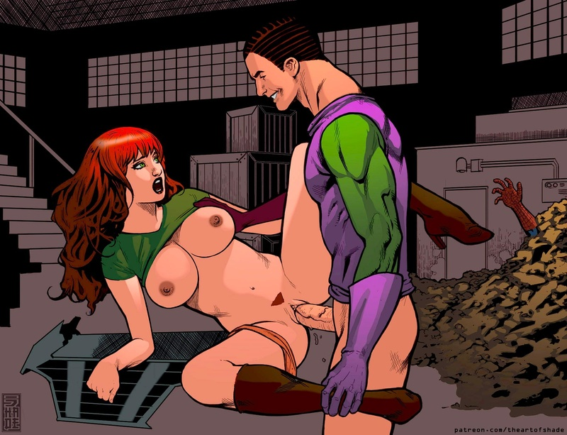 Ultimate Spider Man Porn