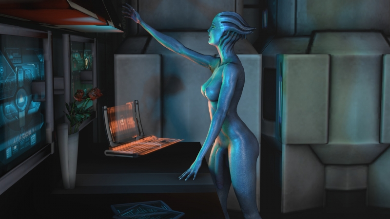 Mass Effect Tali Sex