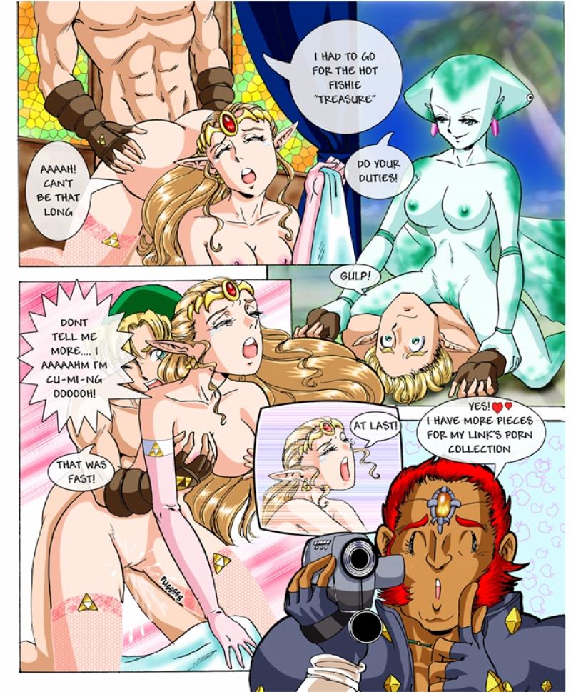 Free Zelda Two Destinies Doujinshi Hentai