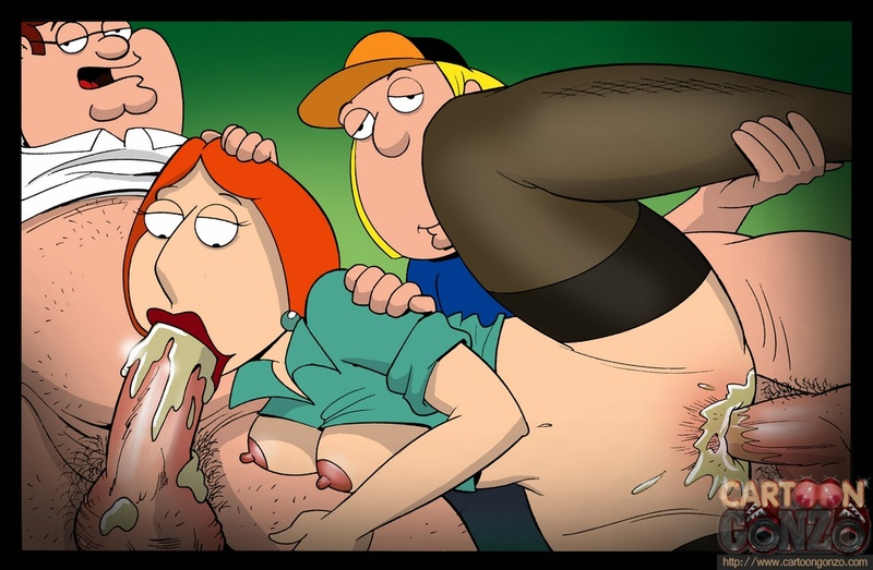 1577250 - Cartoon-Gonzo Chris_Griffin Family_Guy Lois_Griffin Peter_Griffin.jpg