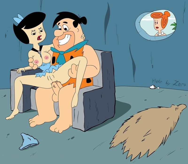 Looks like Fred Flintstone is not only into redheads...