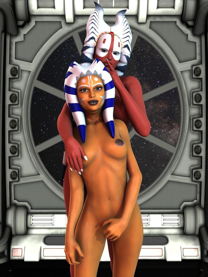 Ahsoka tano Shaak Ti 1119774 - Ahsoka_Tano Clone_Wars Shaak_Ti Star_Wars mememo togruta.jpg