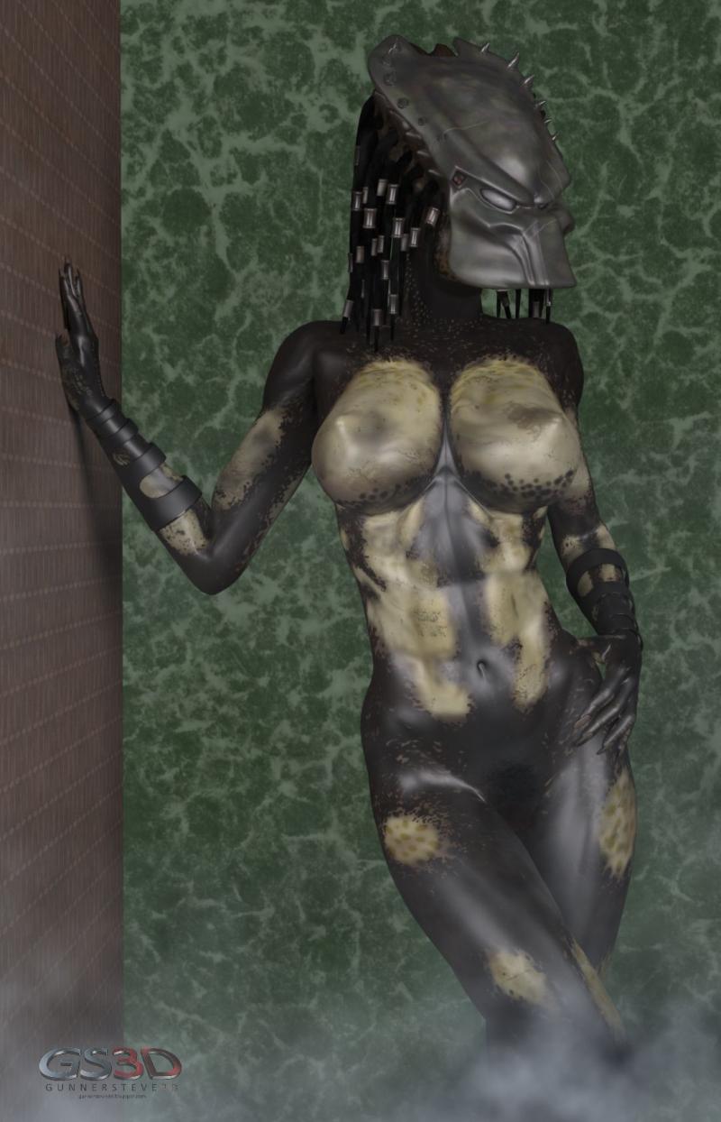 Female yautja hentai