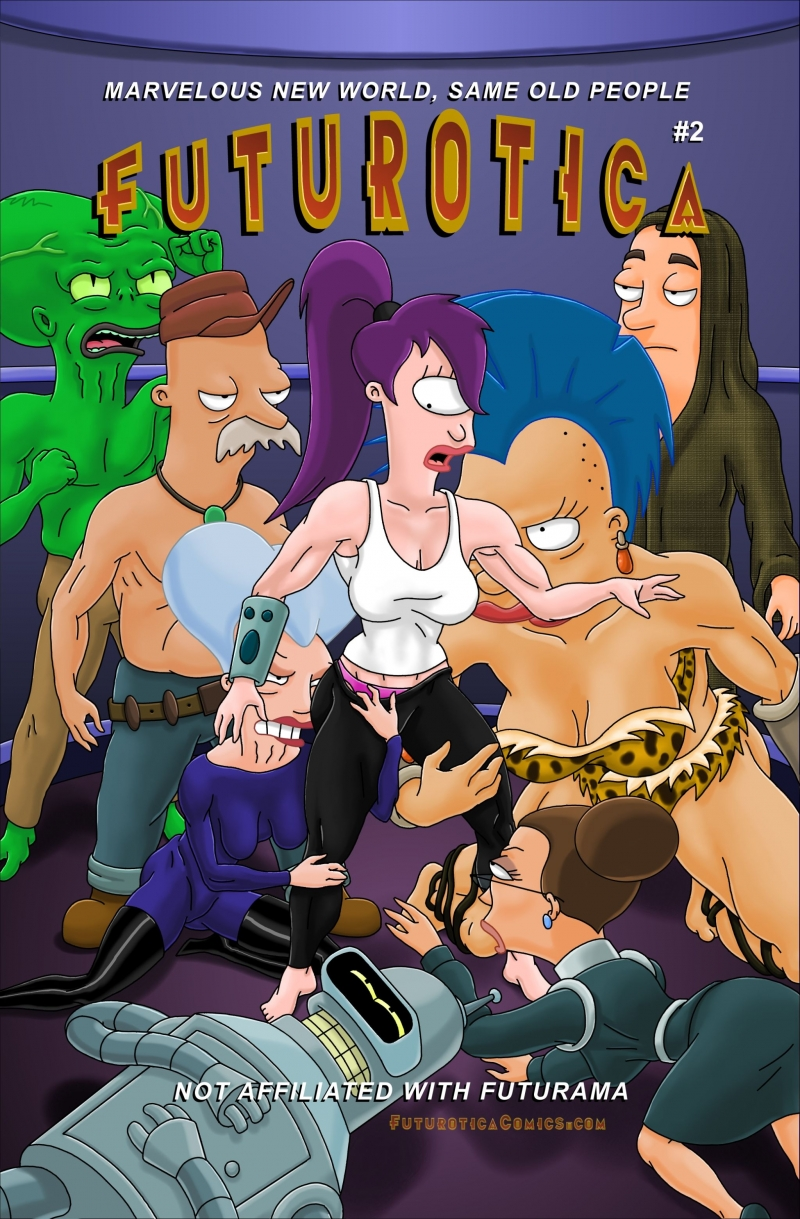 Futurotica [English]: After readung this comics you may think that in the world of Futurama characters  are nailing each other all the time!