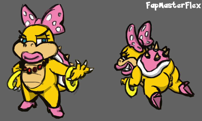 Prinsess Daisy Princess Peach Rosalina Mario 1456421 - FapMasterFlex Koopa Koopalings Super_Mario_Bros. Wendy_O._Koopa.png