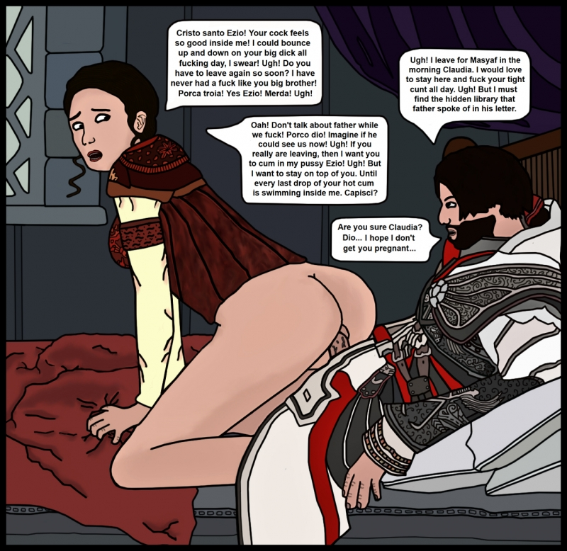 1458231 - Assassin's_Creed Assassin's_Creed_2 Ezio_Auditore claudia_auditore.jpg