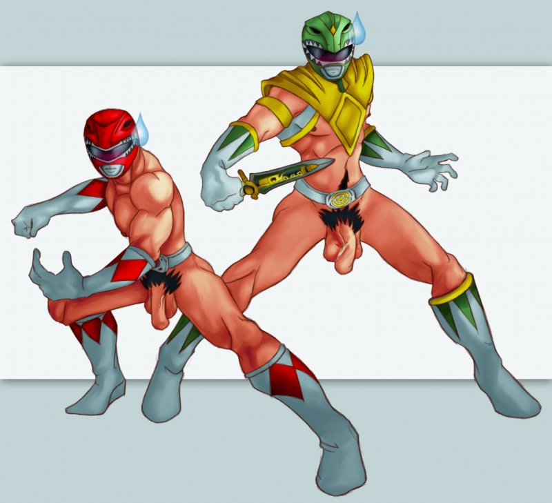 Mighty morphin power rangers naked