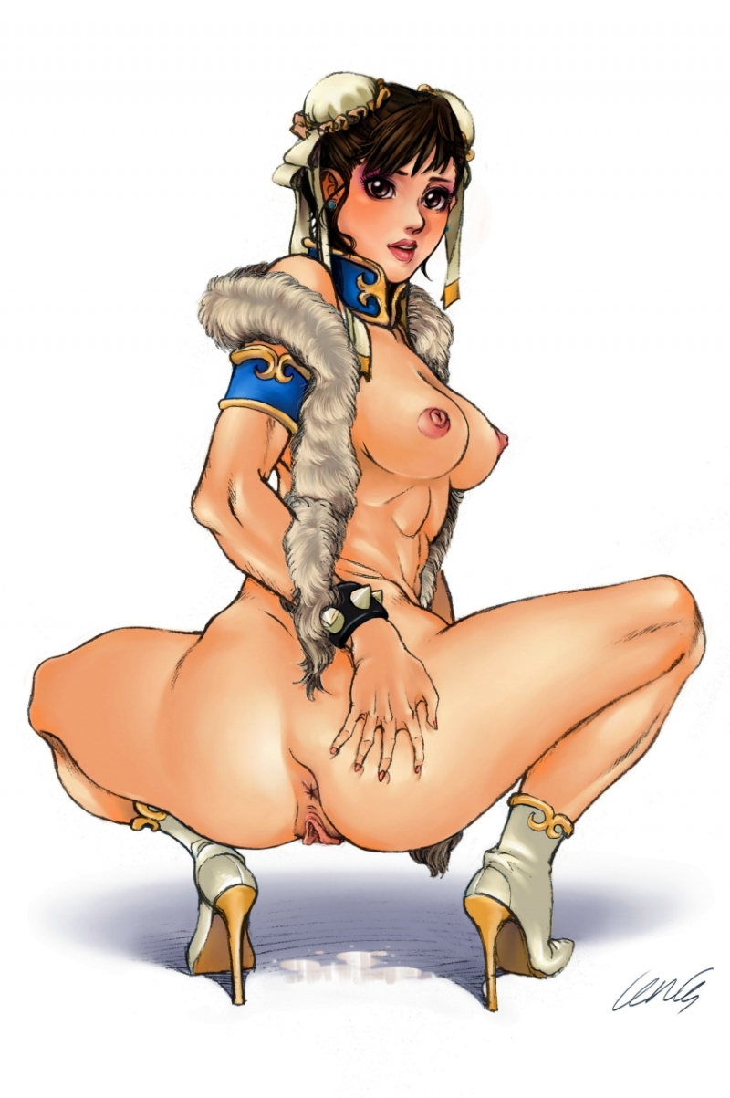 Street Fighter Girls Getting Fucked