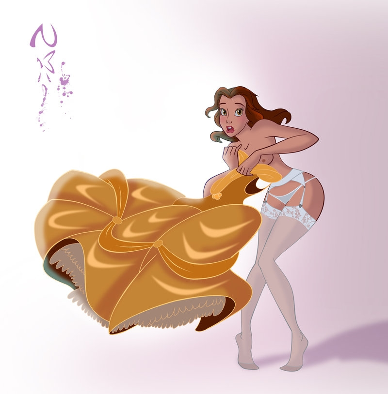 Wow Belle have impressive underwear