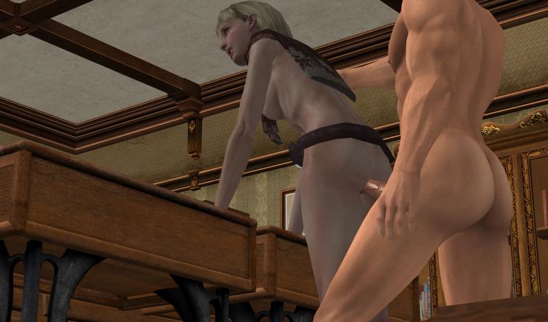 1448734 - Ashley_Graham Commander_Shepard Mass_Effect Resident_Evil Resident_Evil_4 crossover.jpg