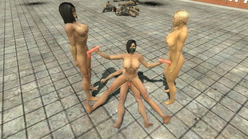 Mortal Kombat Hentai Kitana