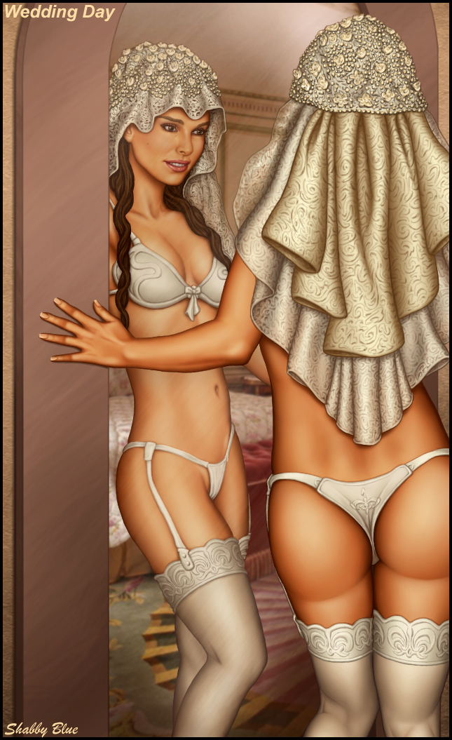 Padme Amidala is one sexy bride for sure!