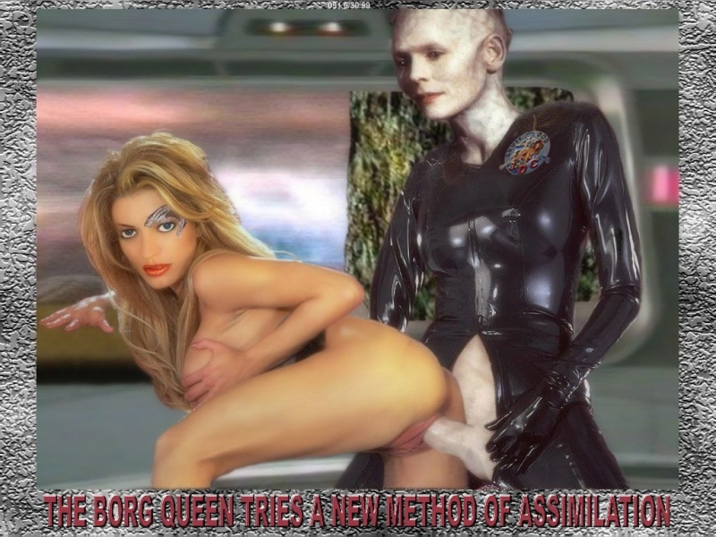 Seven of Nine 624389 - Alice_Krige Borg_Queen Jeri_Ryan Seven_of_Nine Star_Trek Star_Trek_Voyager fakes.jpg