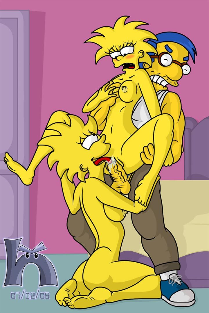 Cartoon Simpsons Sex