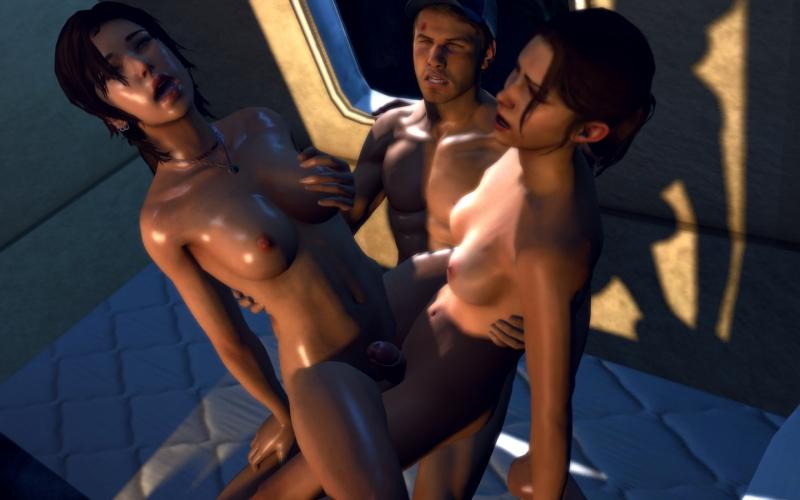 1439736 - GiantKrill Lara_Croft Left_4_Dead Tomb_Raider Tomb_Raider_Reboot Zoey crossover tagme.jpg
