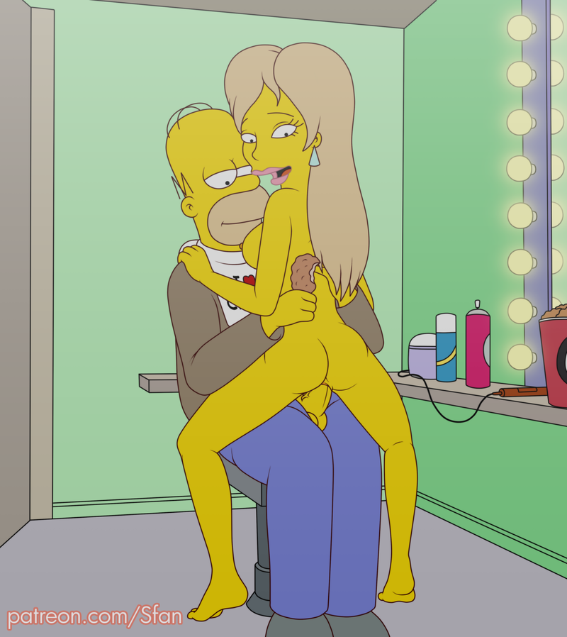 Simpsons Cartoon Naked Sex Marge