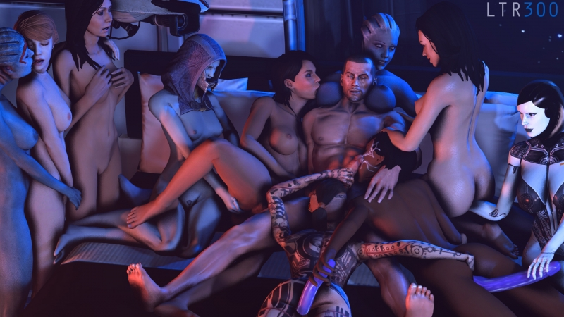 Mass Effect 2 Sex Scene
