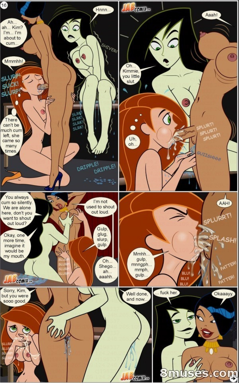 Shego And Kim Possible Nude
