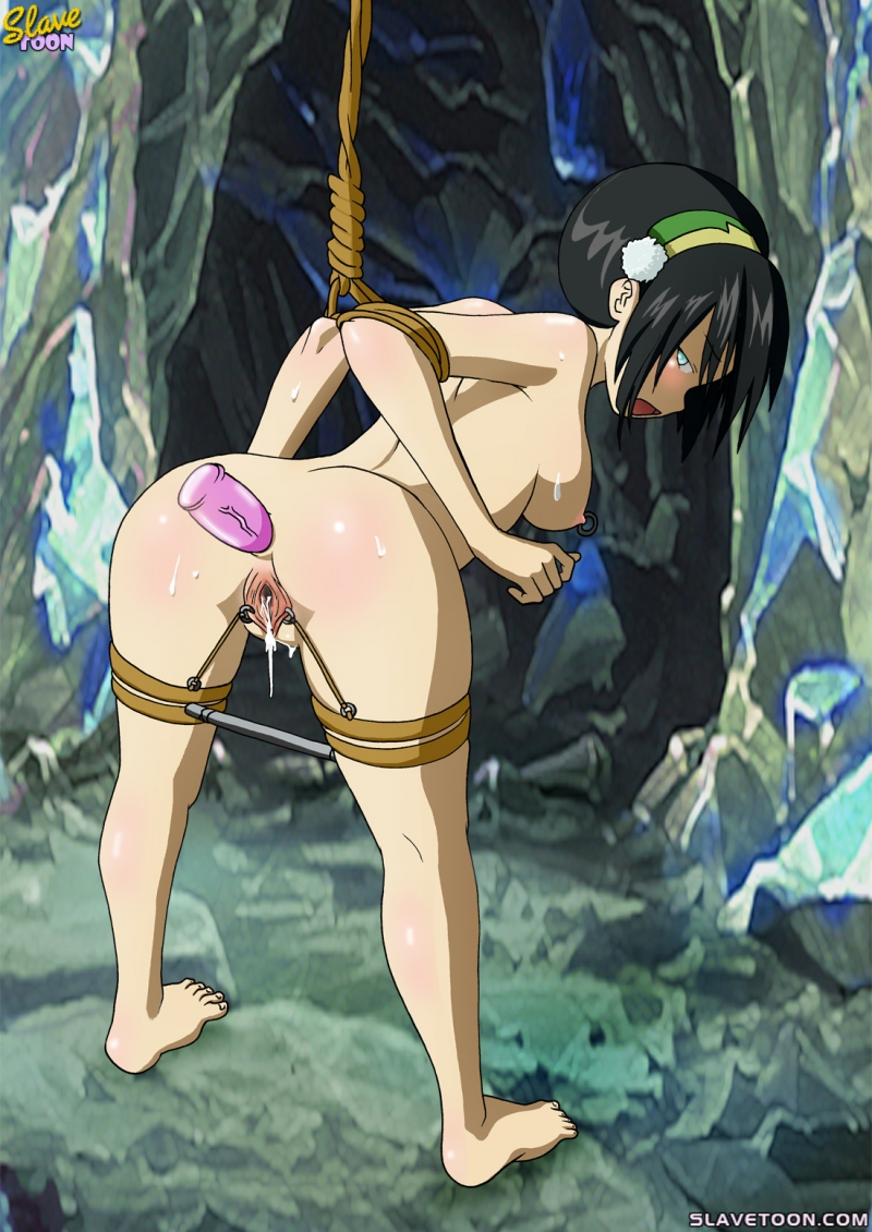 Restrain bondage and ass fucking always make Toph weary but glad