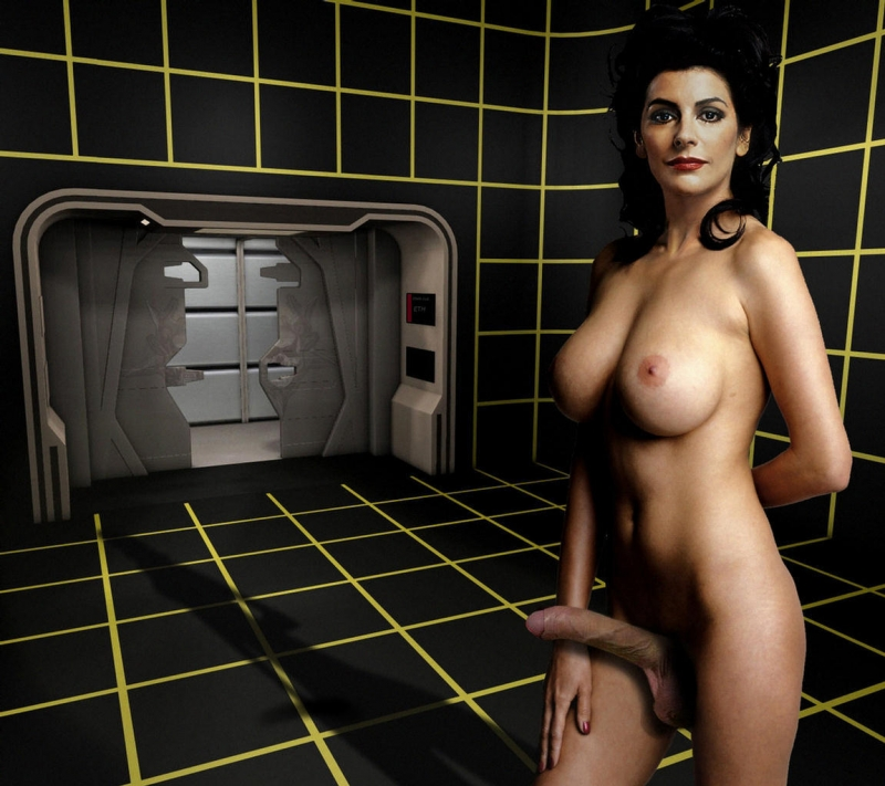 Deanna Troi has balls... literally this time!
