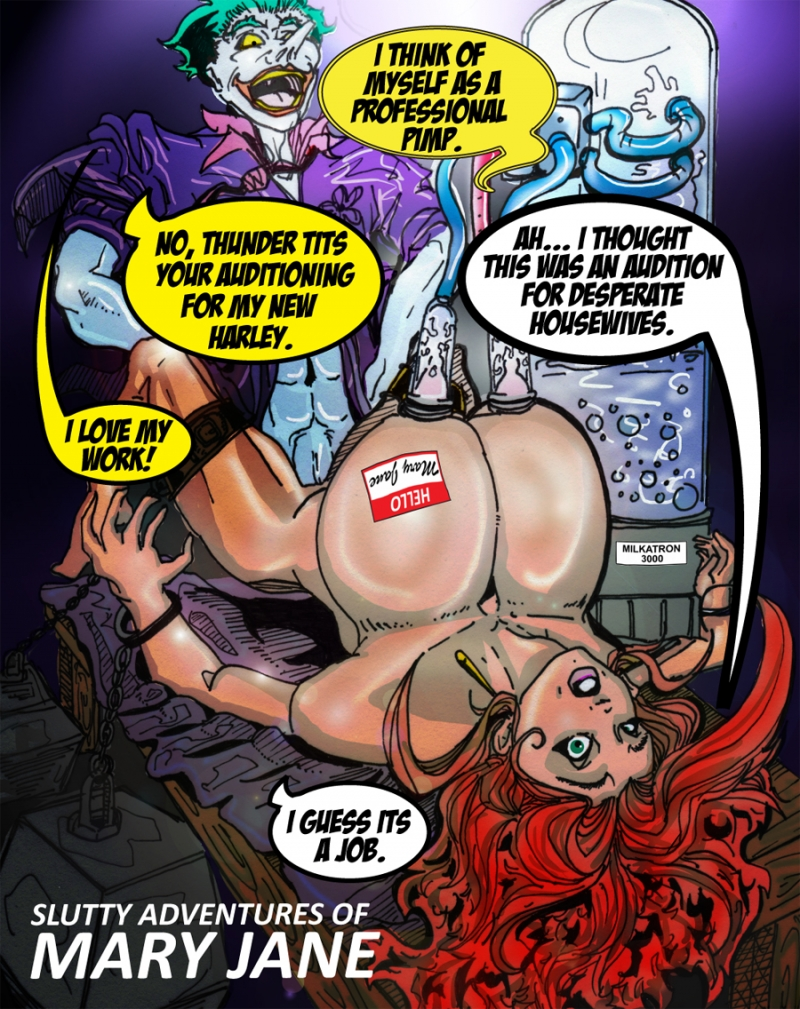 Mary Jane Watson 979387 - Batman DC Joker Marvel Mary_Jane_Watson Spider-Man crossover reedo.jpeg