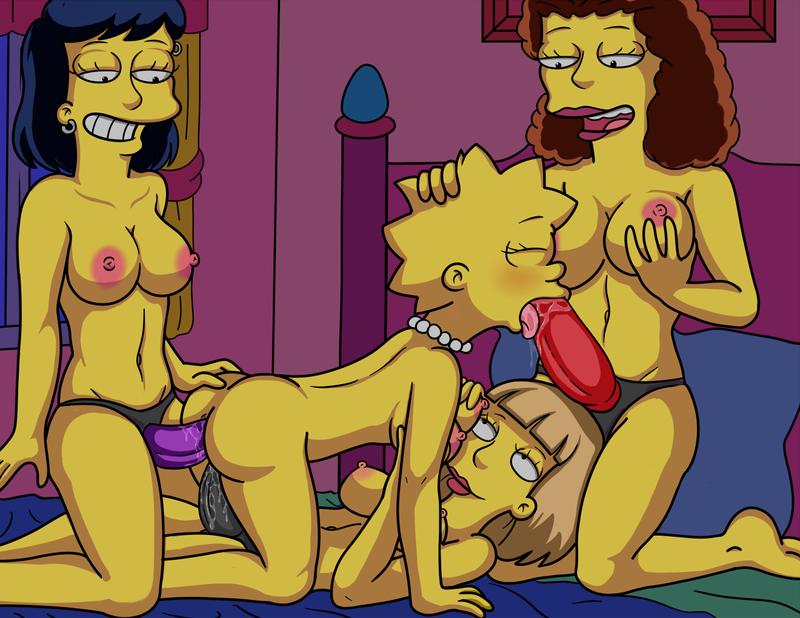 Ms. Krabappel  Lisa Simpson share_it_b62ab582ab8d8191adea34d2b56cdc0f