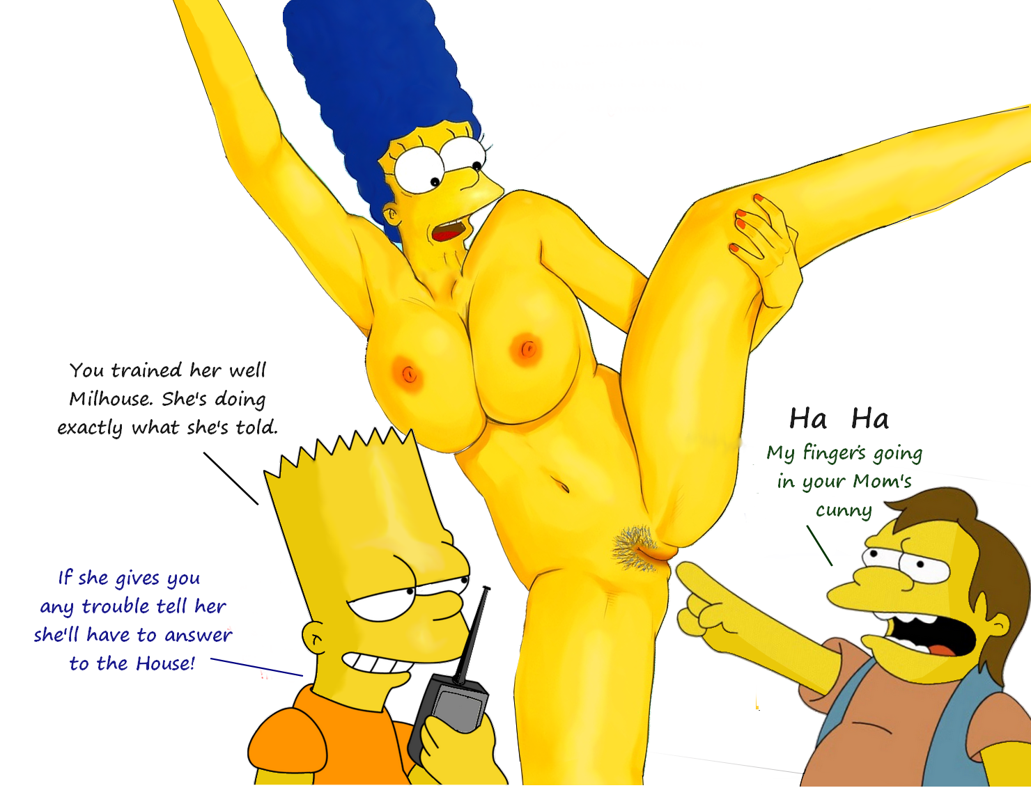 Simpsons nelson fucking a girl, cute big booty girls naked