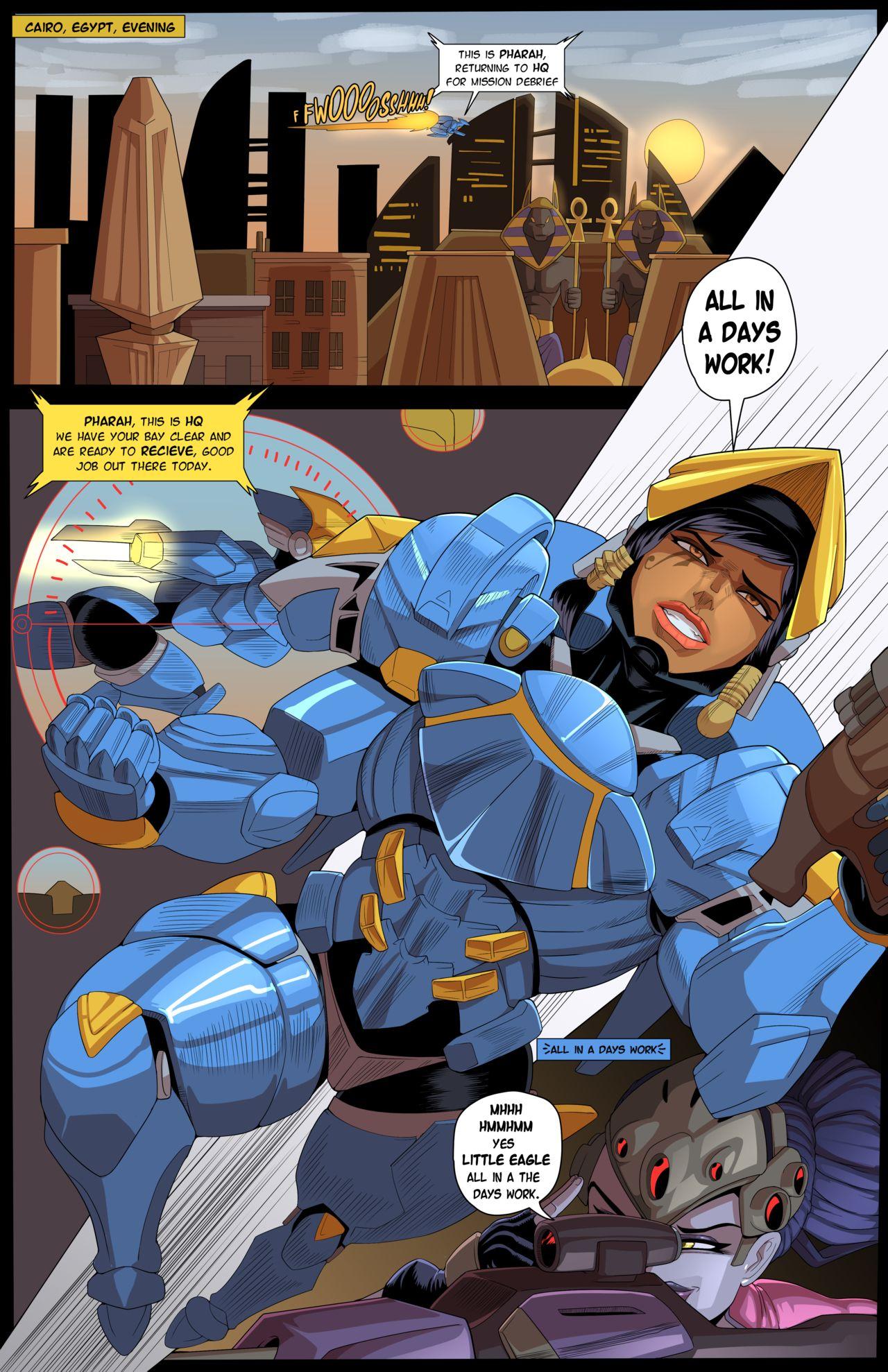 Overwatch Hentai Comic
