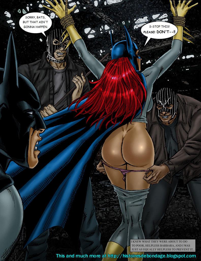 Batwoman Xxx bat-bondage (batman, batgirl, catwoman in bon - batman